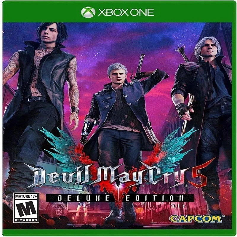 DEVIL MAY CRY 5 EDIÇÃO DELUXE XBOX ONE MIDIA DIGITAL