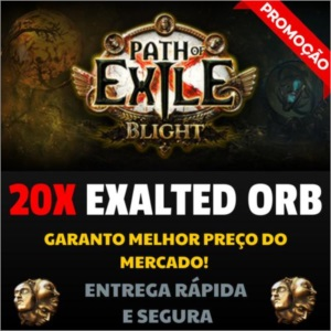 20 Exalted Orb Blight Path of Exile