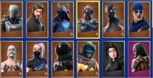 Conta fortnite pc 3 season + de 30 skin