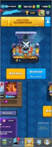 Conta clash royale nivel 11(368 831 gold)