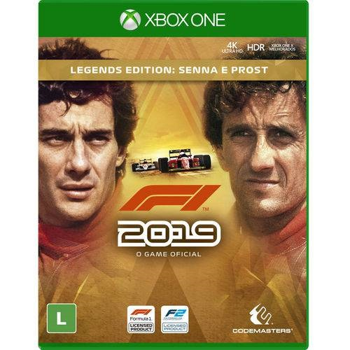 F1 2019 Legends Edition Senna & ProstXbox One Midia Digital