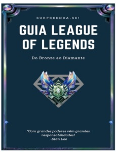 PACK 3 E-BOOKS LEAGUE OF LEGENDS