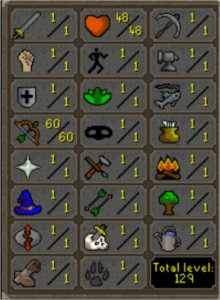 OSRS PURE  / FULL PVP / 60 RANGED