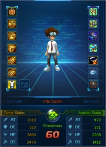 Conta Digimon Masters Online