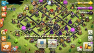 Clash of clans CV 9 full e barato