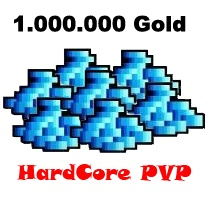1.000.000 Gold  - Tibia  - Hardcore PvP