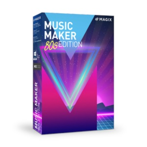 Music Maker 80s Edition - software original