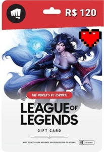 GIFD CARD LEAGUE OF LEGENDS 5350 RIOT POINTS
