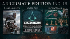 Assassins Creed Valhalla Ultiamate (reserva ativações)