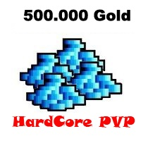 500.000 Gold  - Tibia  - Hardcore PvP
