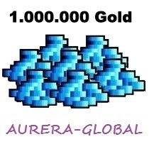 1.000.000 GOLD - OT SERVER - AURERA-GLOBAL