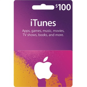 Conta Apple Americana com $100 Dólares iTunes Gift Card
