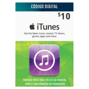 ITUNES GIFT CARD $10 DÓLARES
