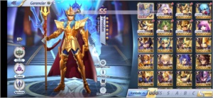 Conta level 52 de Saint Seiya Awakening (Global)