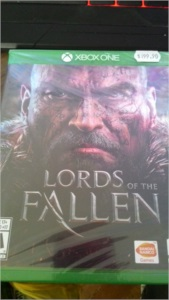XBOX-ONE - Lords Of the Fallen [ LACRADO ]