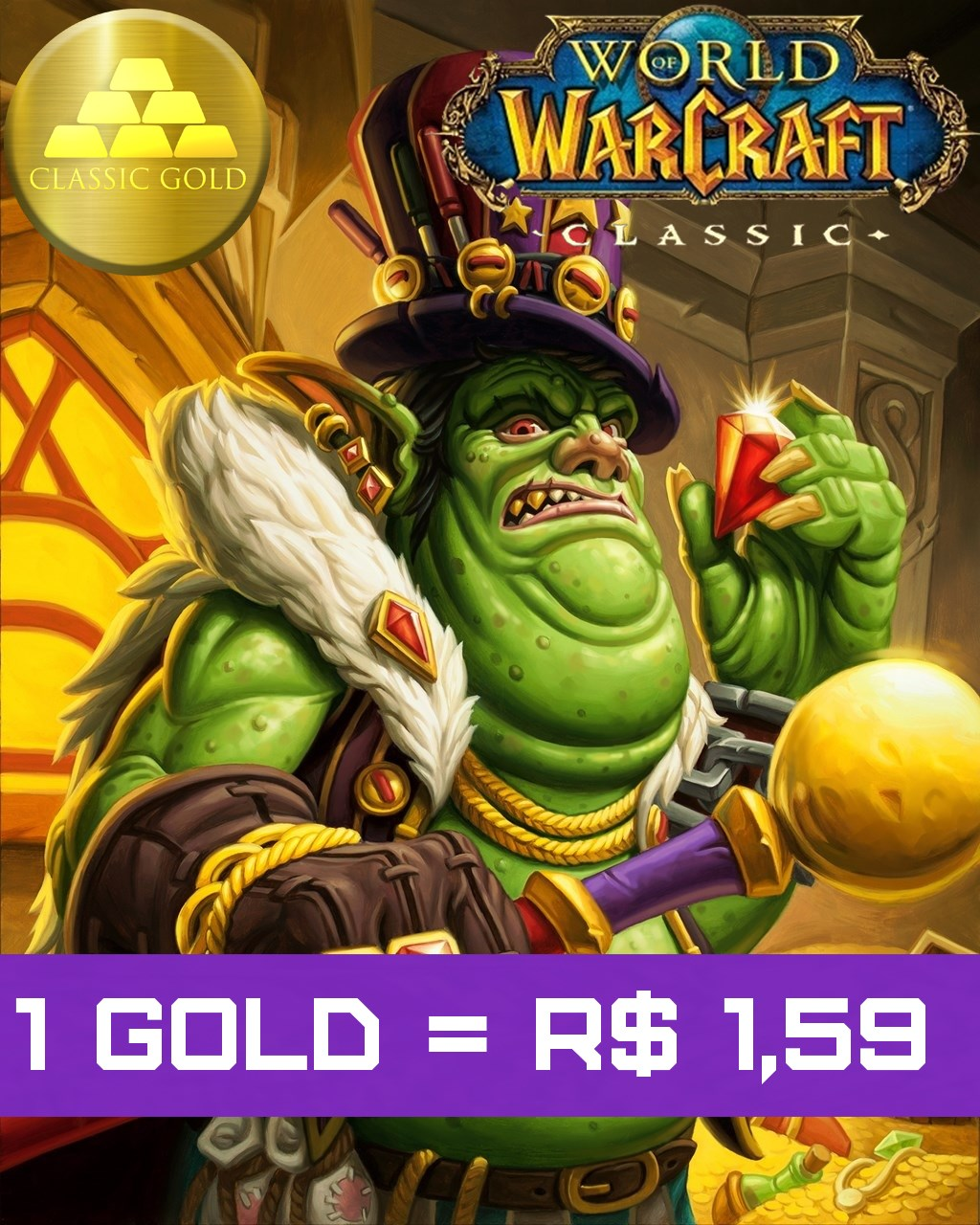 Gold Wow Classic Thalnos Horde Ouro