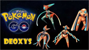 POKEMON GO CAPTURA DEOXYS