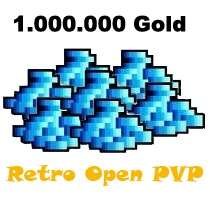 1.000.000 Gold  - Tibia  - Retro Open PvP