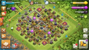 Conta Clash of Clans cv11 semi-full barato