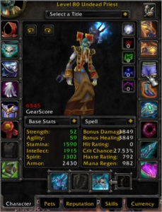 WoW-Brasil: Acc com 5 chars 6k gs+,(Lock e Priest Disc FULL)