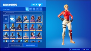 Conta Fortnite, Season 3 com 40+ skins