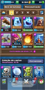 Conta de Clash Royale , Clash of clans e brawl stars