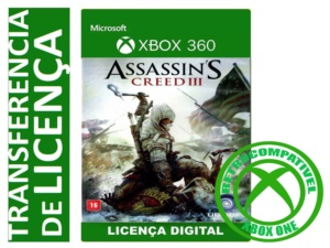 ASSASSINS CREED 3 XBOX 360 MIDIA DIGITAL