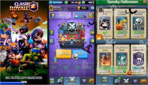 Conta clash Royale arena 11 todas as cartas