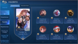 Mobile legends c/ Skins