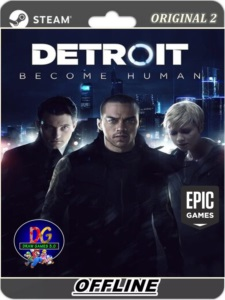 DETROIT BECOME HUMAN PC EPIC GAMES OFFLINE