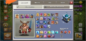 CV 13 - CLASH OF CLANS - BARATO - CV 13 QUASE FULL